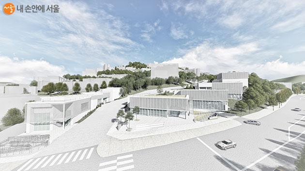 '서울시립 미술아카이브'는 종로구 평창동 7,300㎡ 규모 부지에 건립된다.
