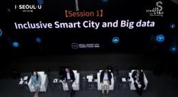 2020 서울 스마트시티 포럼에서는 포용적 스마트시티 강연이 이어졌다