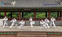 코로나19로 인해 올해는 2020 서울시 태권도 공연이 온라인으로 치루어진다