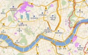 9월 11일 새롭게 오픈한 서울 공간정보맵 홈페이지 메인 화면