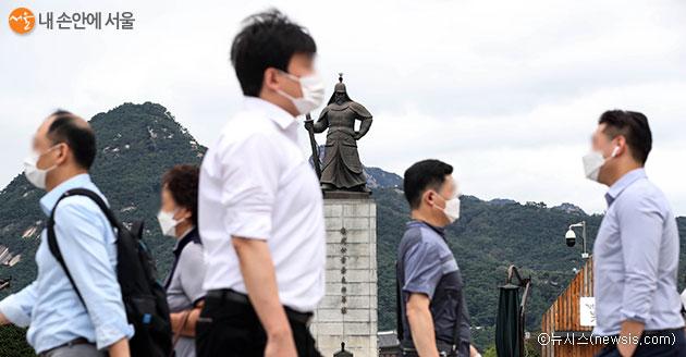 수도권 강화된 사회적거리두기 2단계 연장(~9.13)