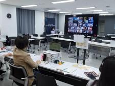 온라인으로 진행된 50+시민참여회의