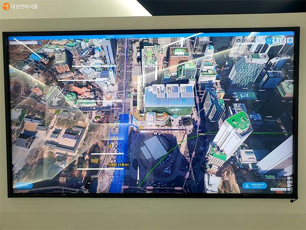 3D로 구현한 서울시를 볼 수 있는 스마트서울맵(S-map)