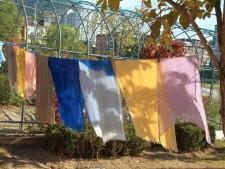 향림도시농업체험원에서 스카프 염색에 도전하다