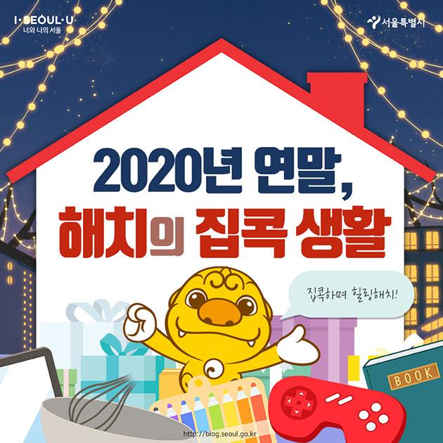 # 2020년 연말, 해치의 집콕 생활 집콕하며 힐링해치!