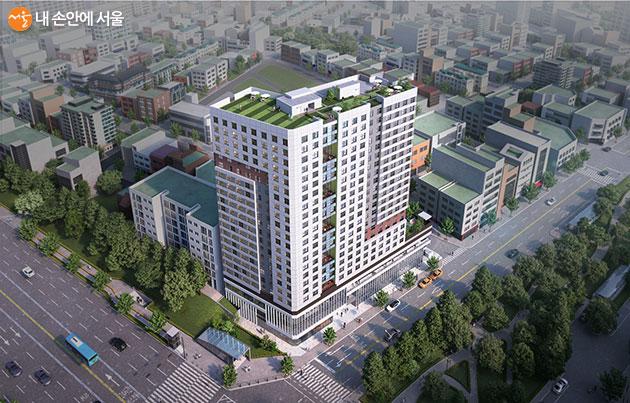 서울 지하철 8호선 문정역 인근에 '역세권 청년주택' 438세대가 공급된다