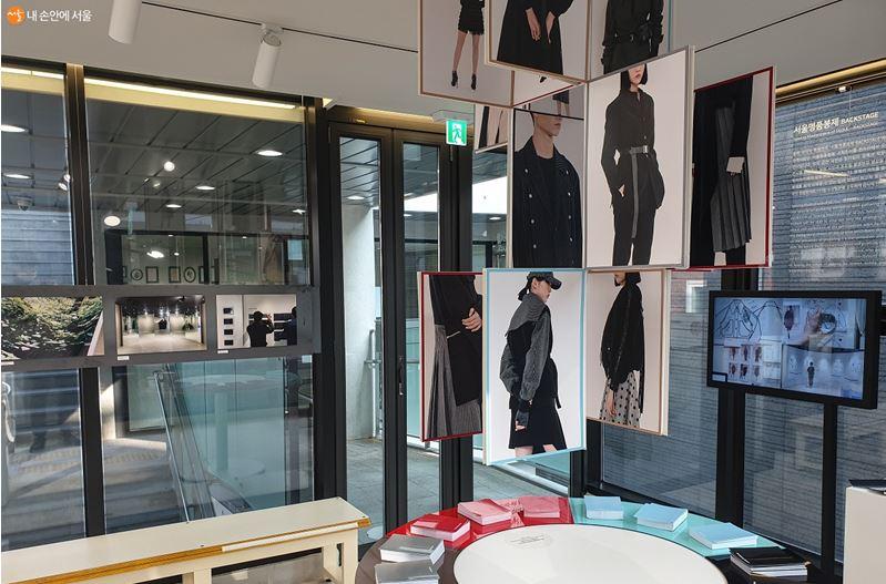 2층에서 만나볼 수 있는 '서울명품봉제'전의 모습