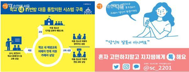 서울시는 디지털 성범죄 예방부터 피해자 지원까지 통합지원 정책을 추진하고 있다