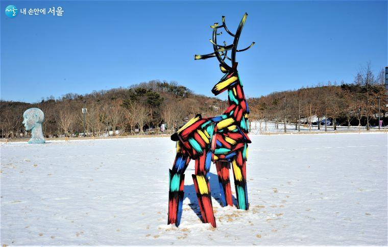 「Deer」/ 김우진 작 ⓒ조수봉