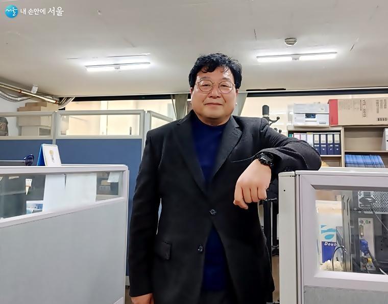 대홍여행사의 매복생 대표