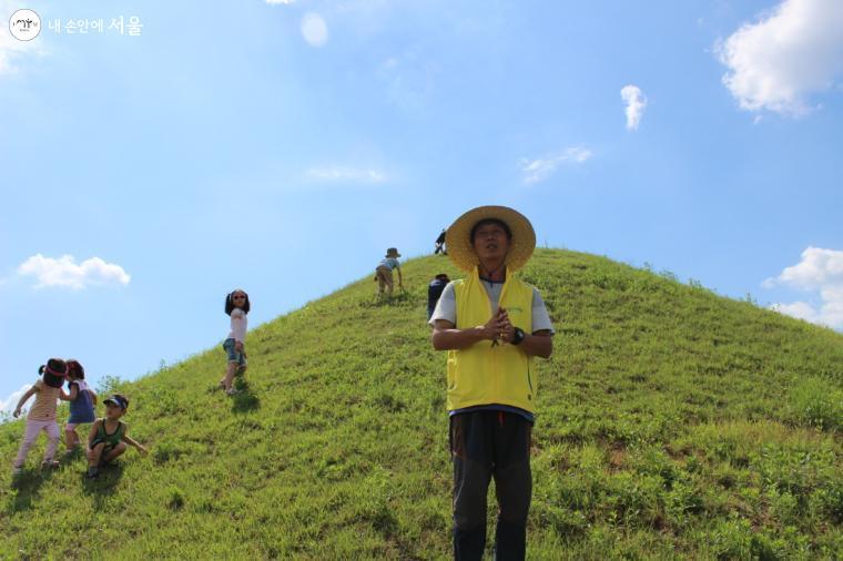 경기도 연천 나룻배마을에서 민통선체험 활동 모습(코로나 이전)